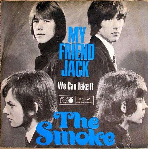 Bild The Smoke - My Friend Jack (7, Single) Schallplatten Ankauf