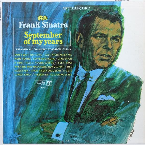 Cover zu Frank Sinatra - September Of My Years (LP, Album, Club, Win) Schallplatten Ankauf