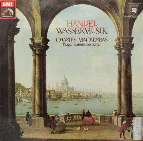 Cover zu Händel*, Charles Mackerras*, Prague Chamber Orchestra - Water Music (Complete) (LP, Album, Quad) Schallplatten Ankauf