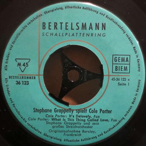 Bild Stephane Grappelly Und Sein Großes Streichorchester* - Stephane Grappelly Spielt Cole Porter (7) Schallplatten Ankauf
