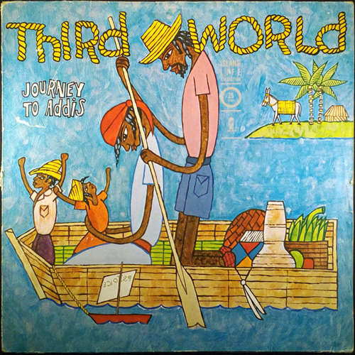 Cover zu Third World - Journey To Addis (LP, Album, RE) Schallplatten Ankauf