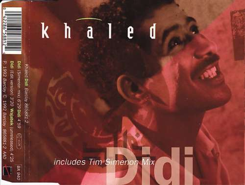 Cover Khaled - Didi (CD, Single) Schallplatten Ankauf