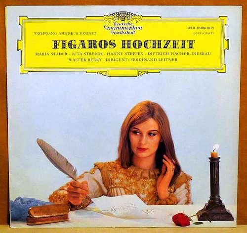 Cover Wolfgang Amadeus Mozart, Berliner Philharmoniker, Ferdinand Leitner - Figaros Hochzeit (Querschnitt) (LP, Mono) Schallplatten Ankauf