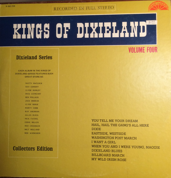Cover Kings Of Dixieland - Kings Of Dixieland Volume 4 (LP, Album) Schallplatten Ankauf