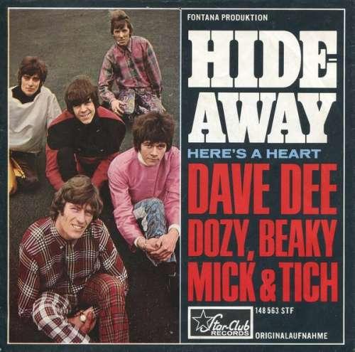 Bild Dave Dee, Dozy, Beaky, Mick & Tich - Hideaway (7, Single) Schallplatten Ankauf