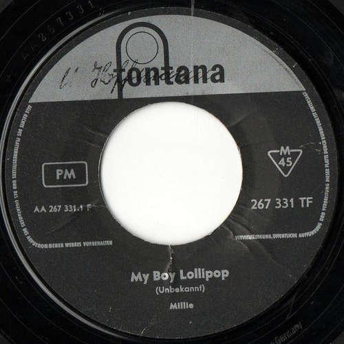 Cover Millie* - My Boy Lollipop / Something's Gotta Be Done (7) Schallplatten Ankauf