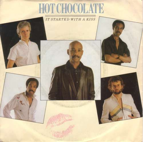 Cover Hot Chocolate - It Started With A Kiss (7, Single) Schallplatten Ankauf