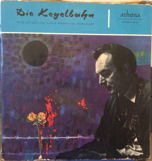 Cover Will Quadflieg Liest Wolfgang Borchert - Die Kegelbahn (10, Gat) Schallplatten Ankauf