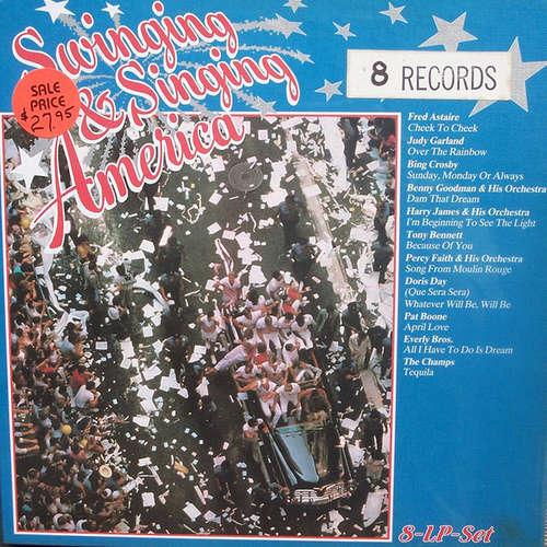Cover Various - Swinging & Singing America (8xLP, Comp) Schallplatten Ankauf