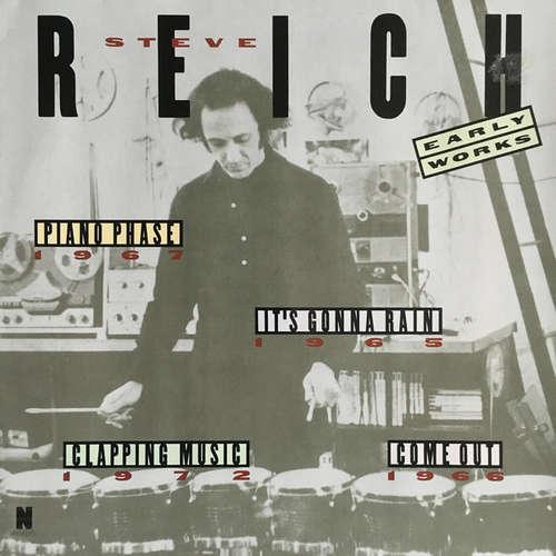 Cover Steve Reich - Early Works (LP) Schallplatten Ankauf