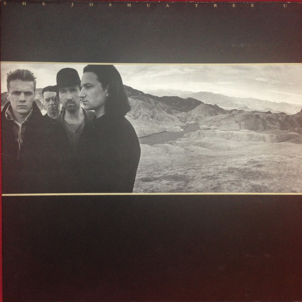 Cover zu U2 - The Joshua Tree (LP, Album, Wit) Schallplatten Ankauf