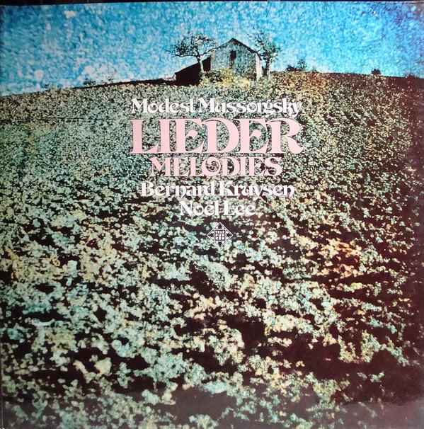 Cover zu Modest Mussorgsky, Bernard Kruysen, Noël Lee - Lieder Melodies (LP, Album, Gat) Schallplatten Ankauf