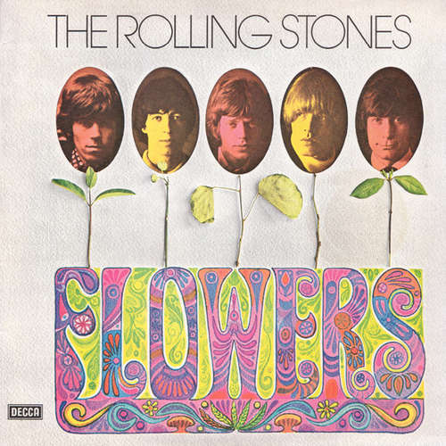 Cover zu The Rolling Stones - Flowers (LP, Comp, RE) Schallplatten Ankauf