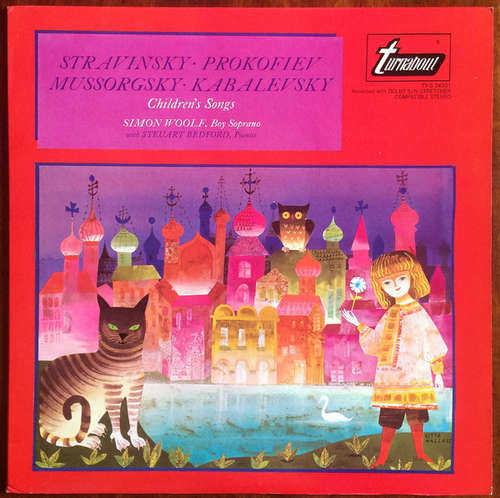 Bild Igor Stravinsky, Sergei Prokofiev, Modest Mussorgsky, Dmitry Kabalevsky - Children´s Songs (LP) Schallplatten Ankauf