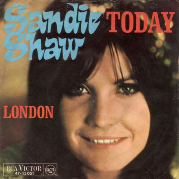 Cover Sandie Shaw - Today (7, Single) Schallplatten Ankauf