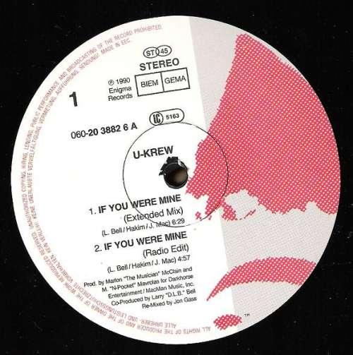 Cover The U-Krew - If You Were Mine (12) Schallplatten Ankauf
