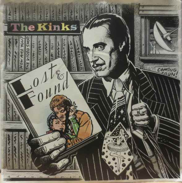 Cover zu The Kinks - Lost And Found  (7, Single) Schallplatten Ankauf