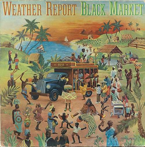 Cover Weather Report - Black Market (LP, Album) Schallplatten Ankauf