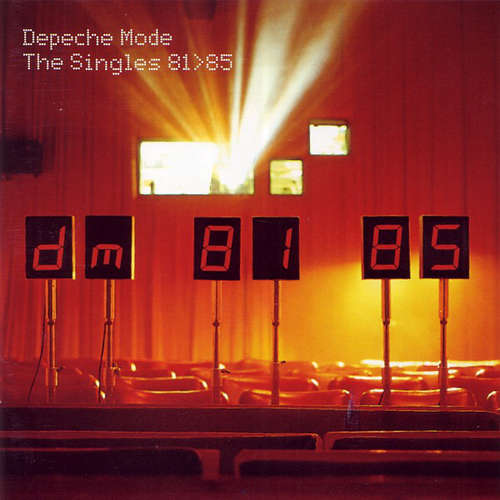 Cover Depeche Mode - The Singles 81>85 (CD, Comp, RM) Schallplatten Ankauf