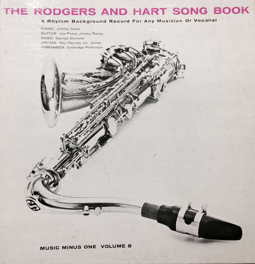 Cover Jimmy Jones (3), Jimmy Raney, George Duvivier, Jo Jones, Joe Puma, Roy Haynes - The Rodgers and Hart Song Book (LP) Schallplatten Ankauf