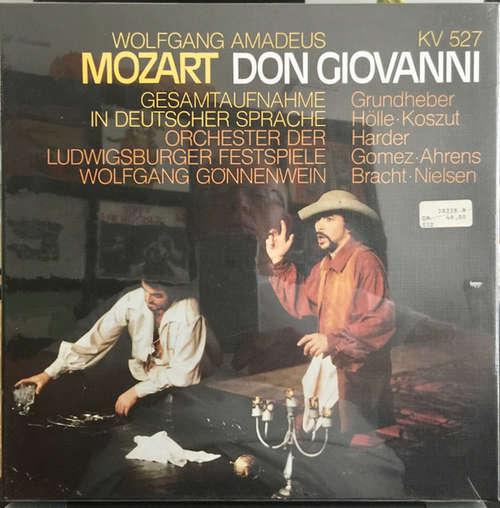Bild Wolfgang Amadeus Mozart - Don Giovanni (Gesamtaufnahme In Deutscher Sprache) (4xLP) Schallplatten Ankauf