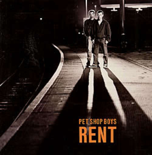 Cover Pet Shop Boys - Rent (12, Single) Schallplatten Ankauf