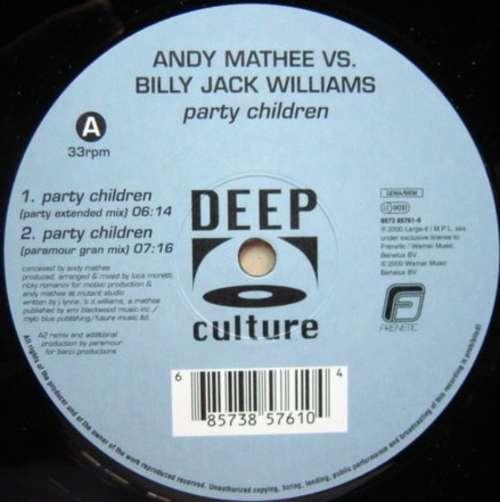 Bild Andy Mathee Vs. Billy Jack Williams* - Party Children (12) Schallplatten Ankauf