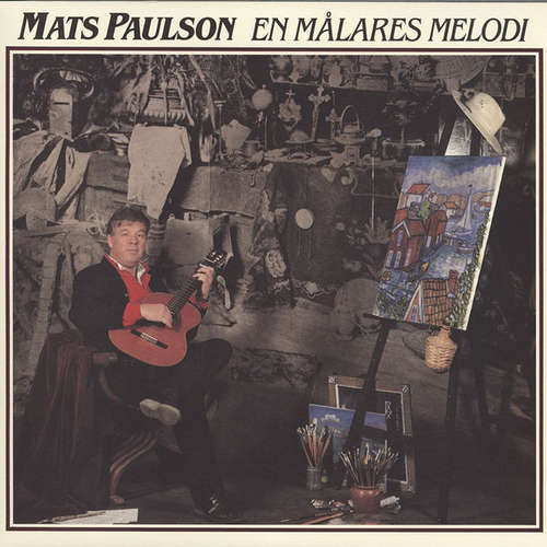 Cover zu Mats Paulson - En Målares Melodi (LP, Album) Schallplatten Ankauf