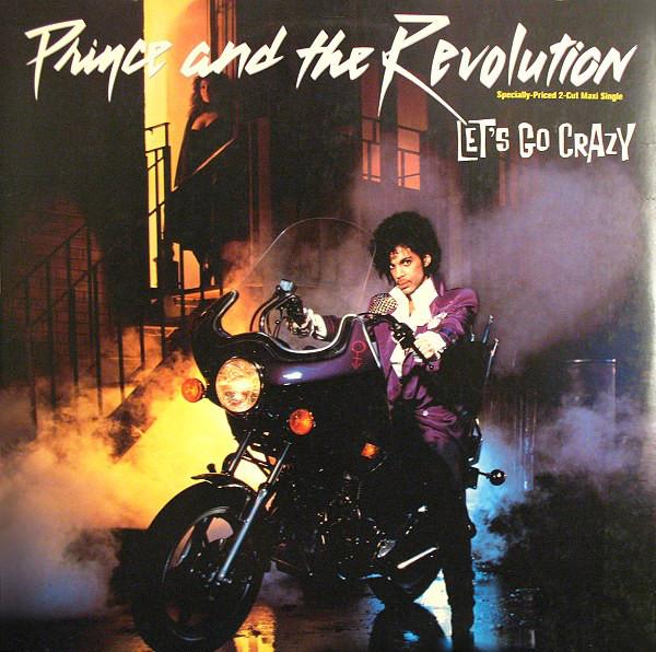 Cover zu Prince And The Revolution - Let's Go Crazy (12, Maxi, SRC) Schallplatten Ankauf