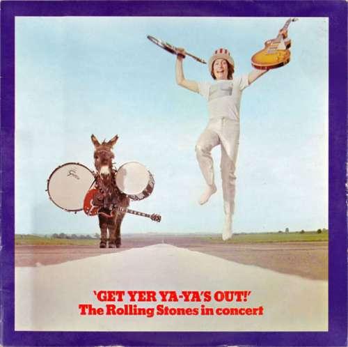 Cover The Rolling Stones - Get Yer Ya-Ya's Out! - The Rolling Stones In Concert (LP, Album) Schallplatten Ankauf