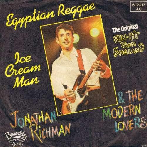 Cover Jonathan Richman & The Modern Lovers - Egyptian Reggae / Ice Cream Man (7, Single) Schallplatten Ankauf