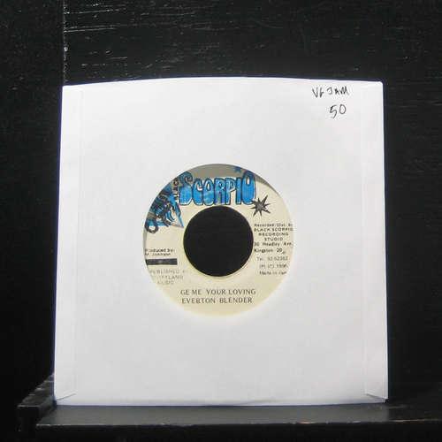 Bild Everton Blender - Ge Me Your Loving (7, Single) Schallplatten Ankauf