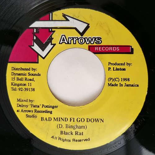 Cover Black Rat - Bad Mind Fi Go Down (7) Schallplatten Ankauf