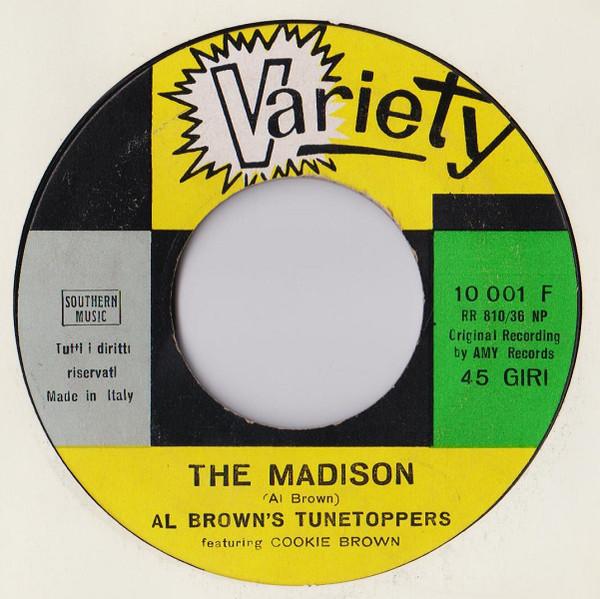 Bild Al Brown's Tunetoppers Featuring Cookie Brown - The Madison (7) Schallplatten Ankauf