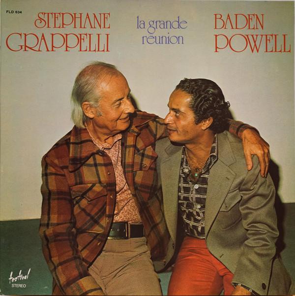 Cover Stéphane Grappelli / Baden Powell - La Grande Réunion (LP, Album, Gat) Schallplatten Ankauf