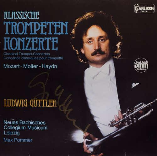 Bild Mozart*, Molter*, Haydn* / Ludwig Güttler, Neues Bachisches Collegium Musicum Leipzig, Max Pommer - Klassische Trompetenkonzerte (LP) Schallplatten Ankauf