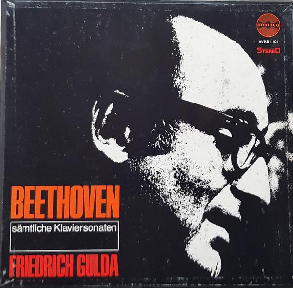 Bild Ludwig van Beethoven - Friedrich Gulda - Sämtliche Klaviersonaten (11xLP + Box) Schallplatten Ankauf