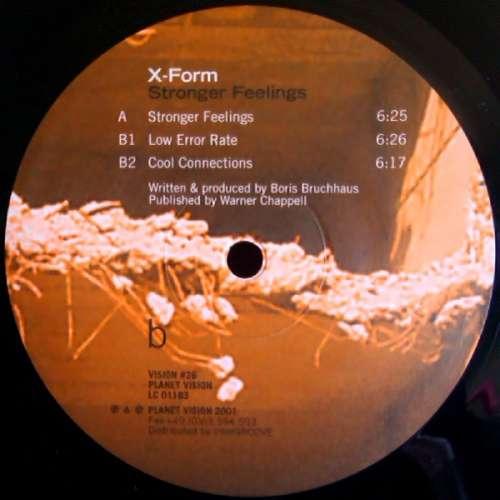 Bild X-Form - Stronger Feelings (12) Schallplatten Ankauf