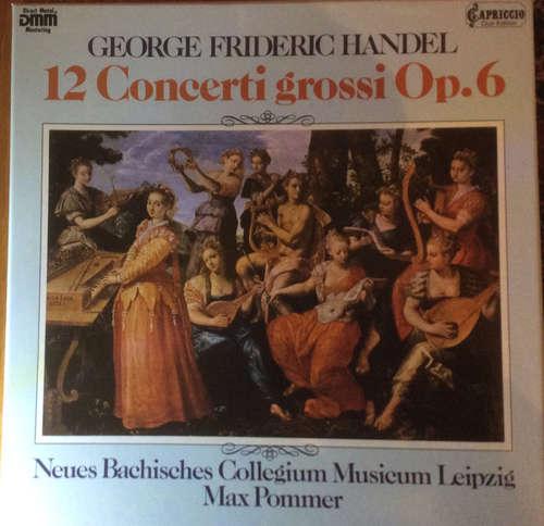 Cover zu Georg Friedrich Händel, Max Pommer - 12 Concerti Grossi Op. 6 (3xLP, Album) Schallplatten Ankauf