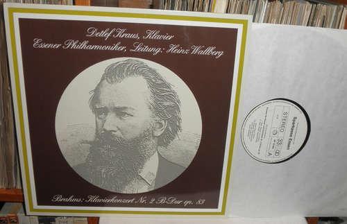 Bild Johannes Brahms, Detlef Kraus, Essener Philharmoniker, Heinz Wallberg - Klavierkonzert Nr. 2 B-Dur Op. 83 (LP, Album) Schallplatten Ankauf