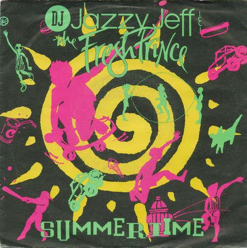 Cover DJ Jazzy Jeff & The Fresh Prince - Summertime (7, Single) Schallplatten Ankauf