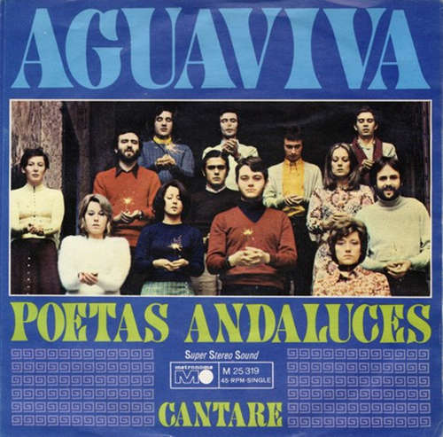 Cover Aguaviva - Poetas Andaluces / Cantare (7, Single) Schallplatten Ankauf