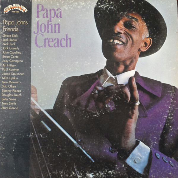 Cover zu Papa John Creach - Papa John Creach (LP, Album, Ind) Schallplatten Ankauf