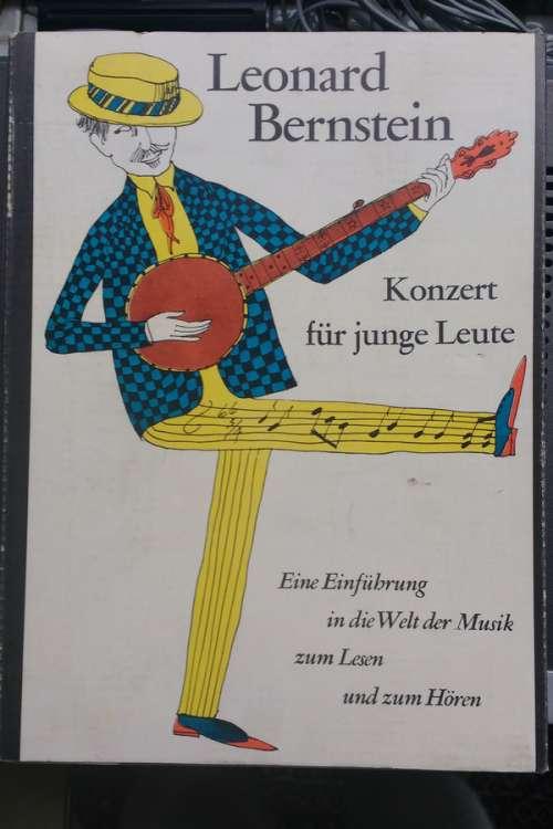 Cover Leonard Bernstein - Konzert Für Junge Leute (3x7 + Box) Schallplatten Ankauf