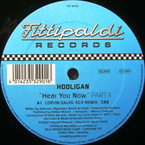 Cover zu DJ Hooligan - Hear You Now (Part 2) (12) Schallplatten Ankauf