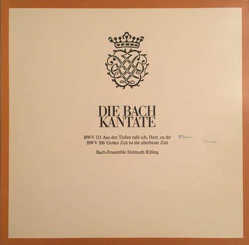 Bild Johann Sebastian Bach, Bach-Ensemble, Helmuth Rilling - Die Bach Kantate : BWV 131 Aus Der Tiefen; BWV 106 Gottes Zeit (LP) Schallplatten Ankauf