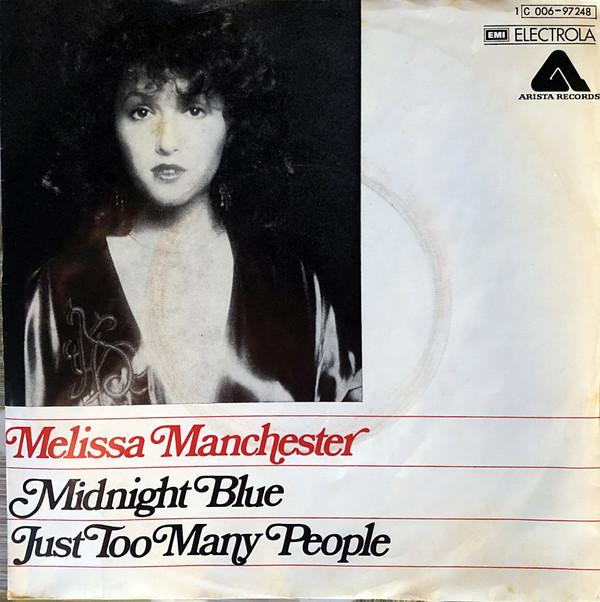 Bild Melissa Manchester - Midnight Blue / Just Too Many People  (7) Schallplatten Ankauf