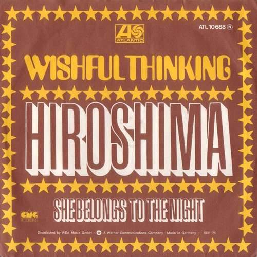 Bild Wishful Thinking - Hiroshima (7, Single, RE) Schallplatten Ankauf