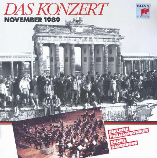 Cover zu Beethoven*, Berliner Philharmoniker, Daniel Barenboim - Das Konzert - November 1989 (LP, Album) Schallplatten Ankauf