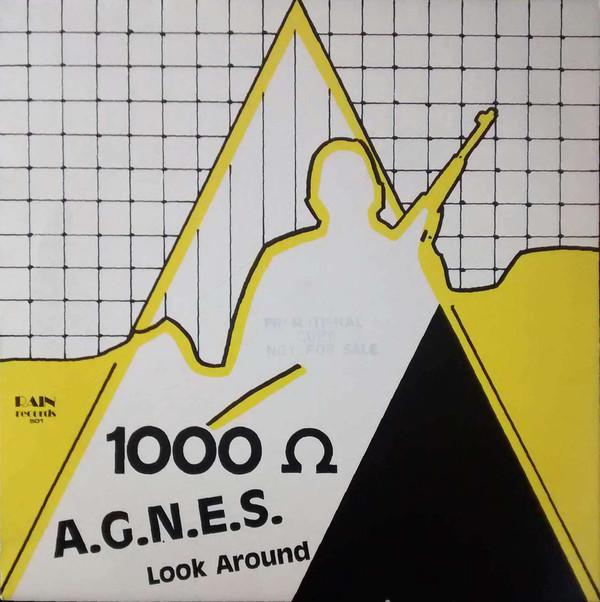 Cover 1000 Ω* - A.G.N.E.S. / Look Around (12, M/Print) Schallplatten Ankauf